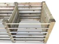 Erweiterung für stabilen ECO-Komposter aus Holz ca. 650 L