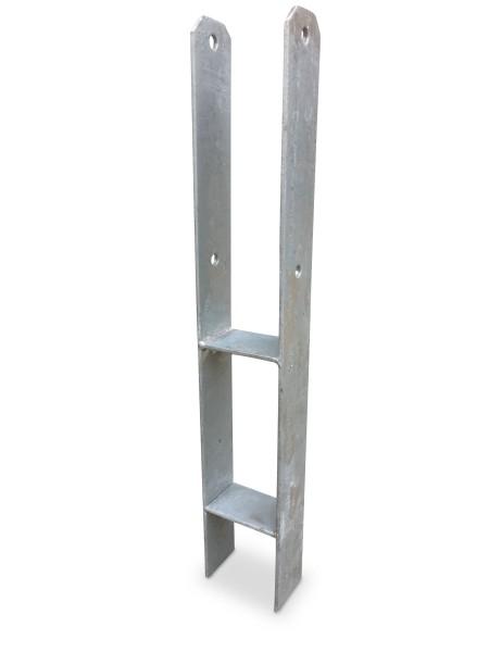 H-Betonanker aus verzinktem Stahl, 6 mm Stärke