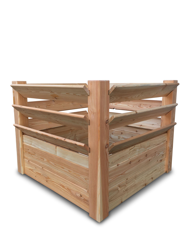 Stabiles Hochbeet Krauterbeet Aus Unbehandeltem Holz 100x100x80 Cm