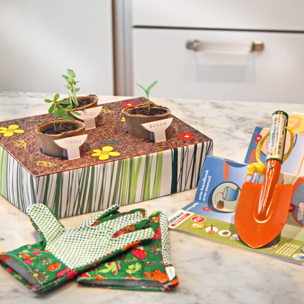 Gemüsegarten-Set für Kinder