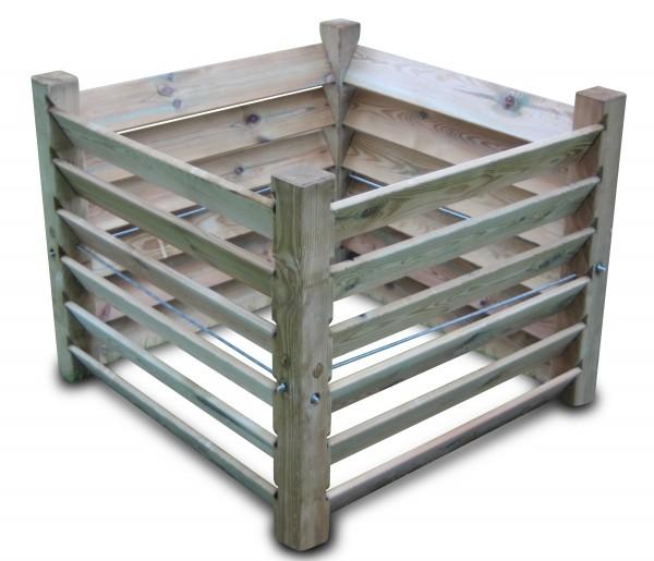 stabiler Komposter aus Holz ca. 650 L