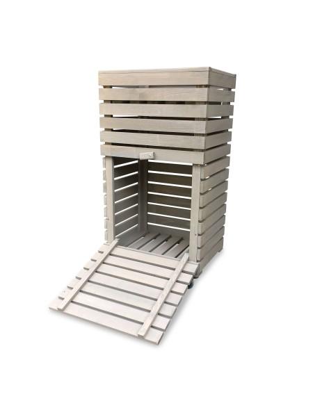 Hochbeet Kräuterbeet MultiBox grau B42 x T32 x H80 cm