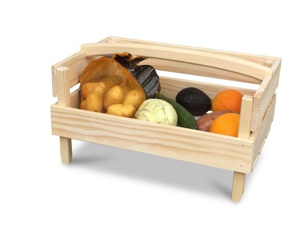 Stapelstiege aus Holz - ideal zum aufbewahren und lagern von Obst und Gemüse