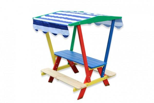 Kinderpicknicktisch mit Dach