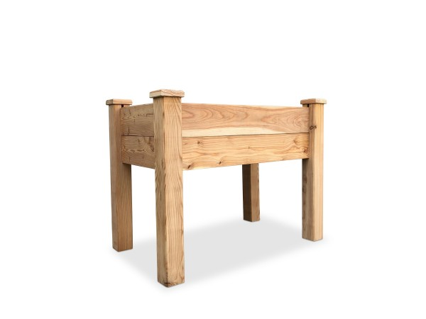 stabiles Hochbeet Kräuterbeet aus Lärchen-Holz 100x60x77 cm